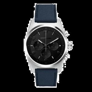 Montblanc Smartwatch Summit 2+ Black DLC Case Rubber Strap 127650