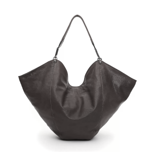 Campomaggi Shoulder Bag ANNA Black Leather Made In Italy S / S 21