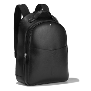 Montblanc Sartorial Backpack Small 2 compartments Black Leather 128549 Business woman Man Luxury Mont Blanc design New Collection 2021