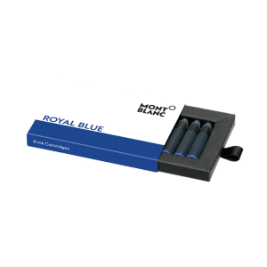 Montblanc Ink cartridges Royal Blue 128198