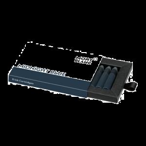 Montblanc Ink cartridges Midnight Blue
