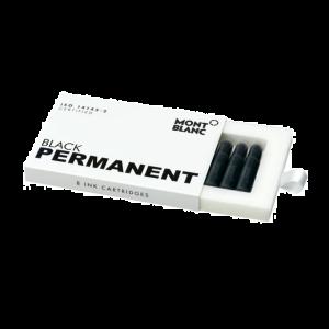 Montblanc Ink cartridges Permanent Black 128209
