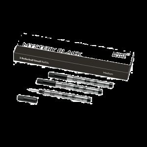 Montblanc rollerball refill small Mistery Black medium