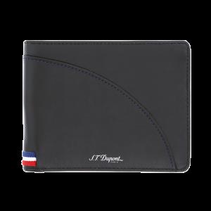 S.T. Dupont Defi Millenium 6cc wallet in black leather man woman icon Paris