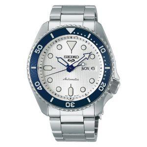 Orologio Seiko 5 Sport 140 Anniversario SRPG47K1 Quadrante Bianco Limited Edition made in japan uomo subacqueo diver