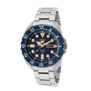 Seiko 5 Sport Orologio Automatico Quadrante Blu Diver 100m SRP605K1