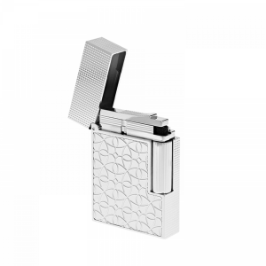 S.T. Dupont Paris Lighter Ligne 2 Small Arabesque Motif C18603 Man Woman Luxury art Fire acceso smoke accessories Icon Diamond