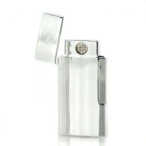 Lighter S.T. Dupont Slim 7 Lighter Electric Silver Chrome USB charge 027002E