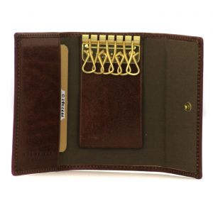 The Bridge Story Leather KeyCase 6 Hooks Brown 01801601-14
