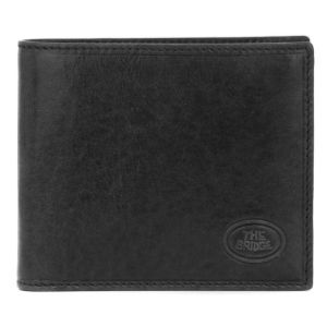 Wallet The Bridge man leather brown 8 cc and Identity Card Case accessories