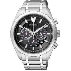 Citizen Man Chrono Watch Super Titanium 4010 Black Dial CA4010-58E