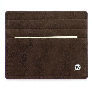 Wondersmall WILDSKIN Elephant Leather Credit Card Holder 6 cc man